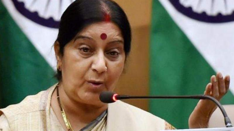 PoK integral part of India, says Sushma while granting medical visa