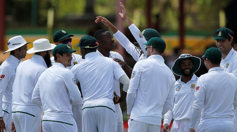 South Africa declare on 573 for four