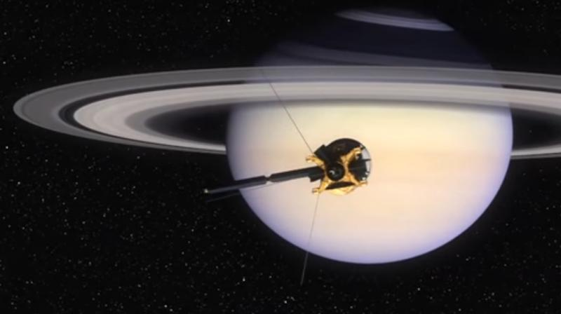 NASA probe beams back closest-ever view of Saturn's rings