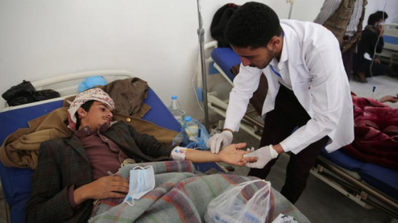 Red Cross: Cholera death toll in Yemen reaches at least 180