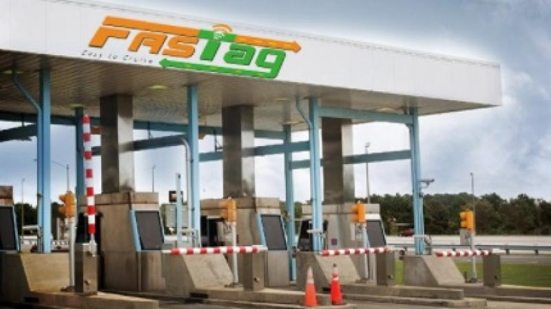NHAI on Friday rolled out a dedicated lane for FASTag vehicles.