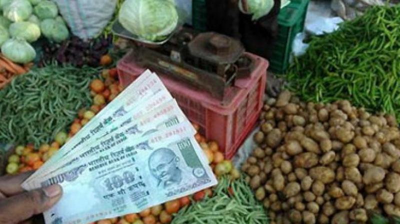 Retail inflation hits 5-mth high of 3.36% on costlier veggies