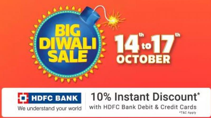 Diwali Sale: Amazon, Flipkart, Snapdeal, Paytm Mall Gear Up For Festive Discounts