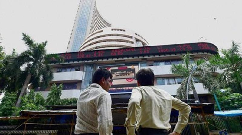 The Sensex on Tuesday dropped by 92 points to end at three-week low of 32,941.87 points. (Photo: AP)