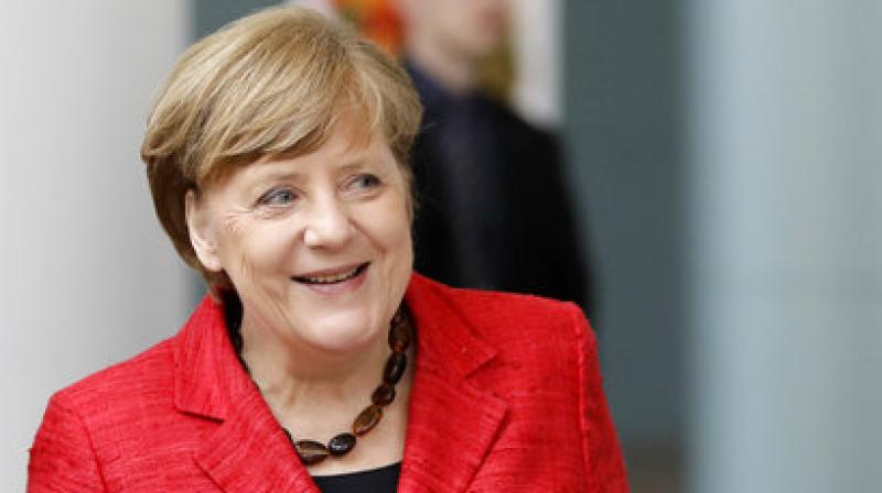 German Chancellor and candidate of the Christian Democratic Union for the upcoming election Angela Merkel delivers a speech in Dortmund. (Photo: AP)German Chancellor Angela Merkel (Photo: AP)