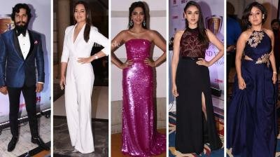 Several B-Town celebrities came out in style for the Brand Vision Awards held on Wednesday. (Photo: Viral Bhayani)