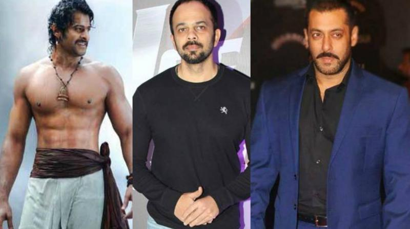 Prabhas to work with Salman Khan in Bollywood? No, says Rohit Shetty
