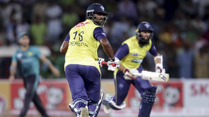 Victory in second T20 has intriguingly placed the series with the final match on Friday, also in Lahore. (Photo:AP)