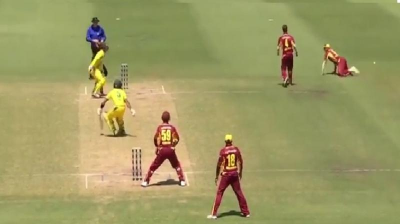 Aussie cricketer stung by new 'fake fielding' rule
