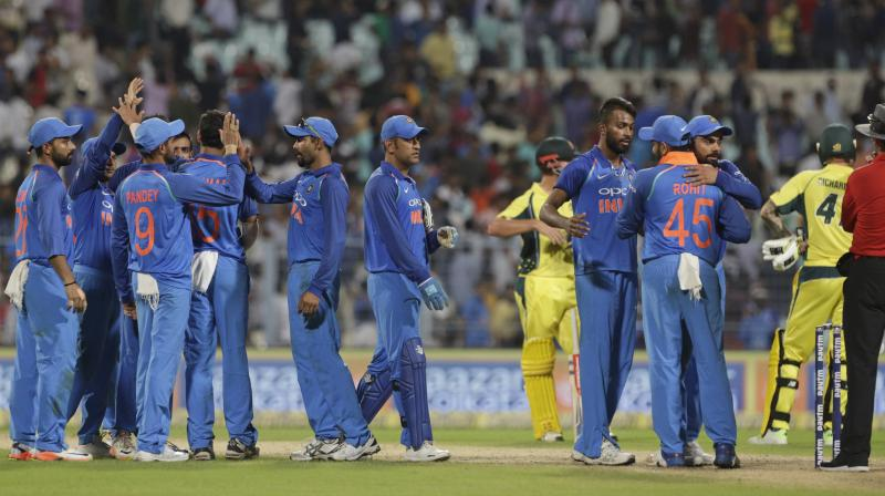 ODI Team After Beating Australia 4-1