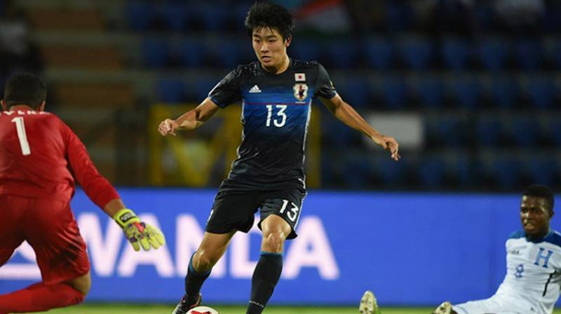 Nakamura scores hat-trick as Japan thump Honduras 6-1