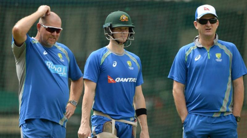 Mark Waugh (Right) said that it would have been better probably if it was a week or two shorter. (Photo: AFP)