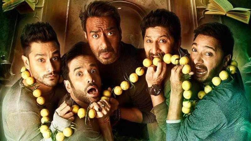 Golmaal Again crosses Rs 200 crore at the box office!""