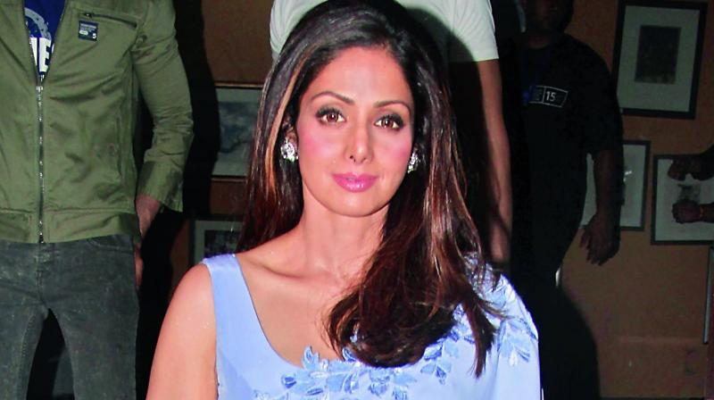 Sridevi-Jhanvi In Mr India Remake?