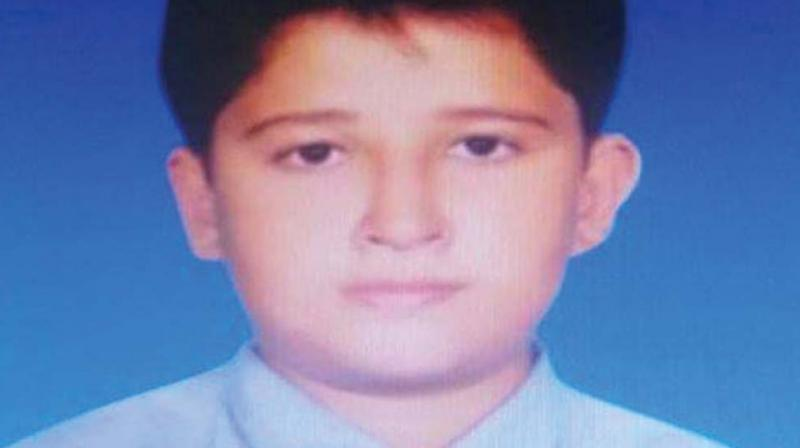 The deceased has been identified as Tarun, son of Ramesh and Jayamma. He was studying in 9th standard at a school near his house.