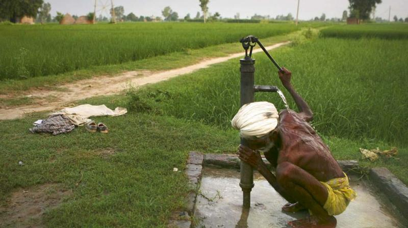 India supports 15 per cent of the world's population but possesses only four per cent of the world's water resources. World Bank data shows that only 35 per cent of India's agricultural land is irrigated — defined as the artificial application of water to land or soil. This means that 65 per cent of farming depends on rainfall.