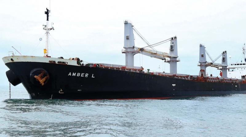 The 33,205-tonne Emerald Star with 26 Indian nationals on board sent a distress signal early Friday (Representational Image)