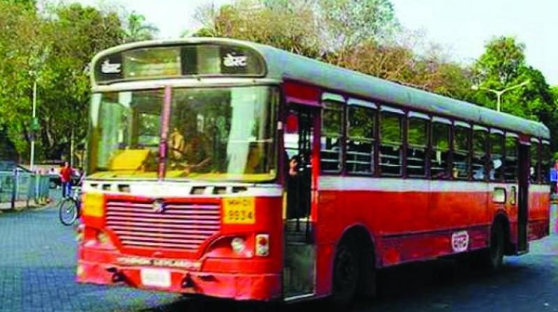 BEST buses go off roads with 36000 workers on strike