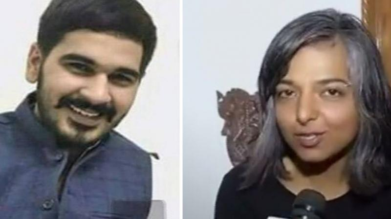 Varnika Kundu accused Vikas Barala, son of Haryana BJP chief Subhash Barala, and his friend Ashish Kumar of stalking her through the streets of Chandigarh. (Photo: Screengrab | Twitter)
