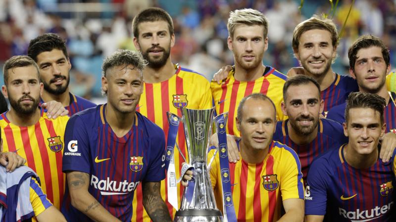 Barcelona beats Real Madrid 3-2 in International Champions Cup