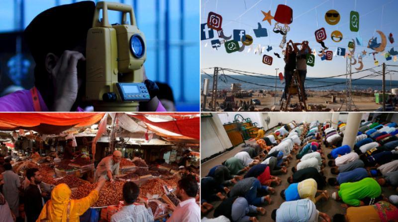 Muslims around the world from Malaysia, Pakistan, Egypt, Indonesia, Phillipines and Pakistan mark the start of Ramadan. (Photo: AP)