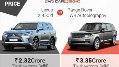 Lexus LX 450d vs Range Rover LWB Autobiography