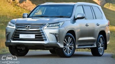 Lexus prices LX 450d at Rs 2.32 crore