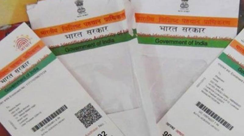 collector orders that the Aadhaar card details of the beneficiaries be noted.