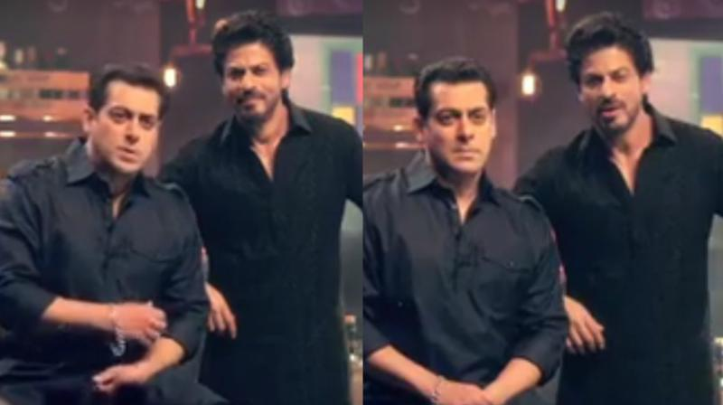 Watch: Salman fails at Raees dialogue, SRK pulls his leg in Bigg Boss teaser