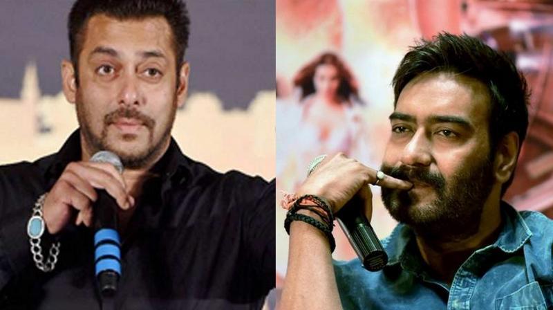 Miffed Ajay Devgn refuses writing Salman Khan an emotional message