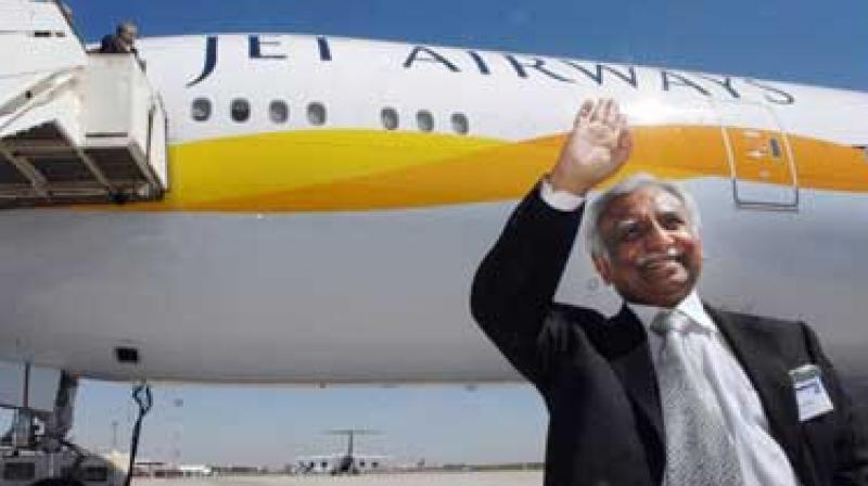 Naresh Goyal is chairman of Jet Airways, country's largest international airline. (Photo: AFP)
