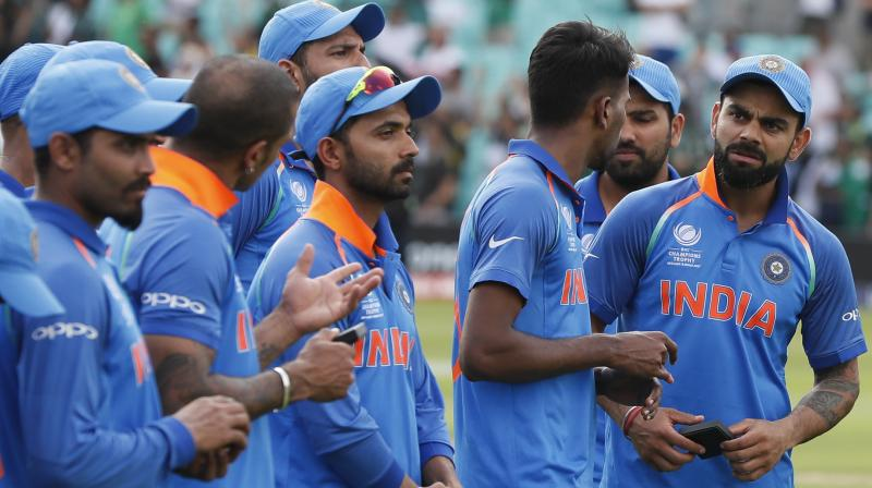 India slipped to 3rd in the ODI rankings after their 18-run loss to Pakistan in the ICC Champions Trophy final. (Photo: AP)