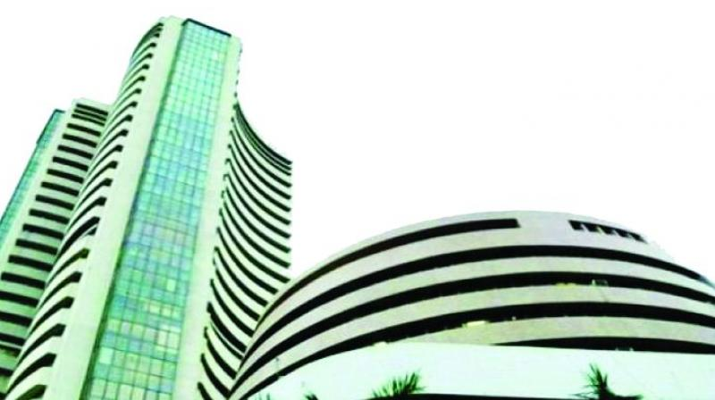 Weak rupee makes Sensex lose 440 points