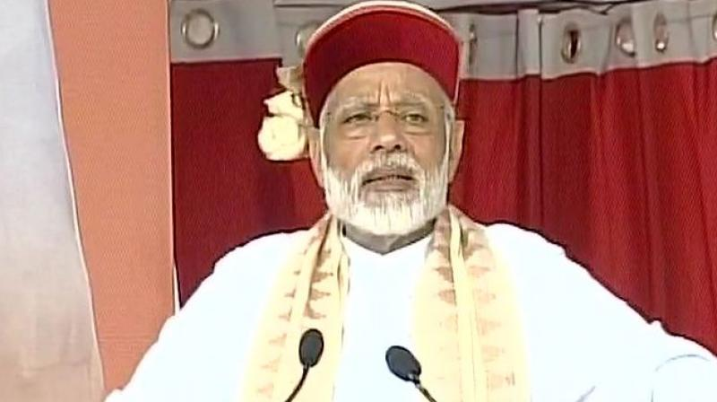 Himachal govt 'running on bail': PM Modi