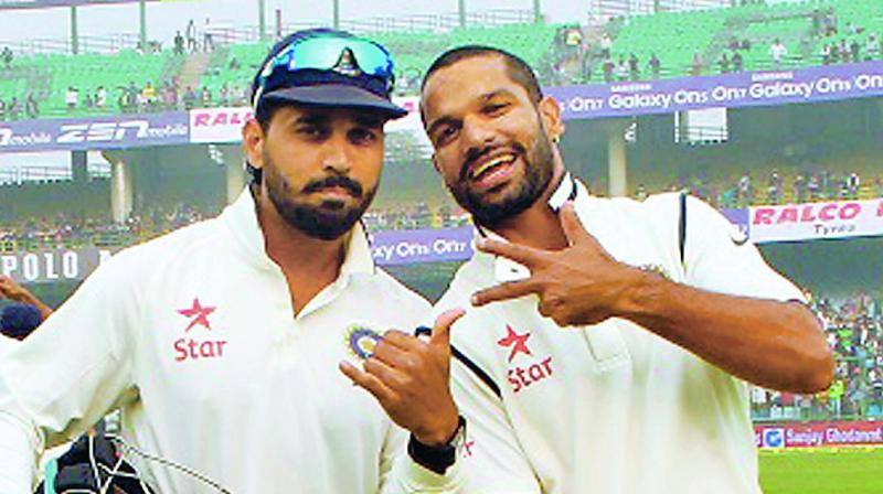 Dhawan replaces injured Vijay for Lanka Test series
