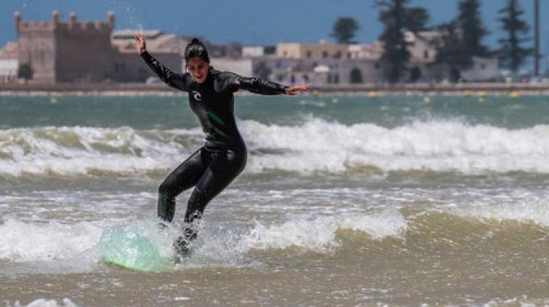 Katrina Kaif Surfs The Waves In Morocco For Tiger Zinda Hai