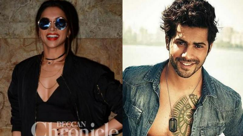 WHAT?! Deepika Padukone to romance Varun Dhawan?
