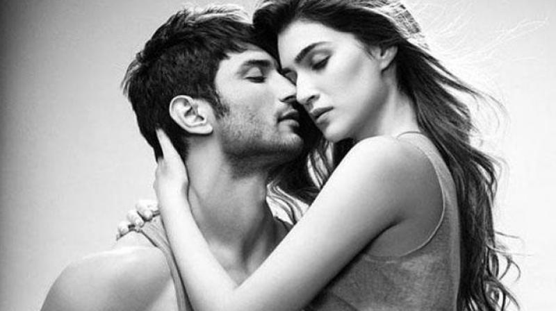 Recently on performing a couple act on an award show, Kriti admitted that she shares great comfort and chemistry with Sushant.