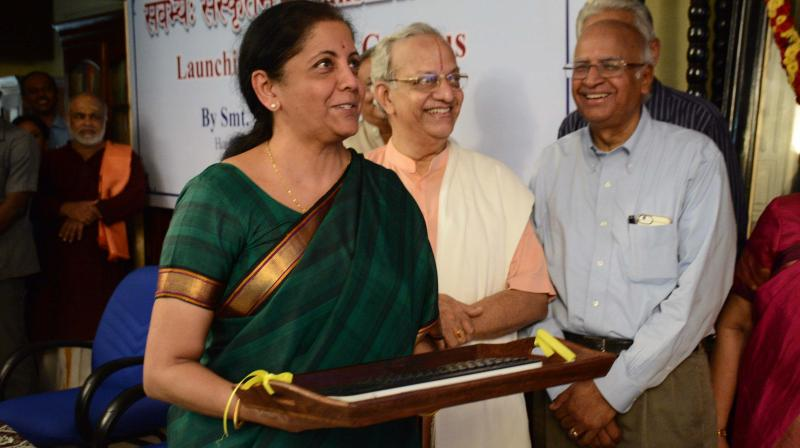 Launching the digital campus of the 111-year-old Madras Sanskrit College on Tuesday evening, Union Commerce and Industry Minister Nirmala Sitharaman called for concerted efforts to recapture the glory of Sanskrit.