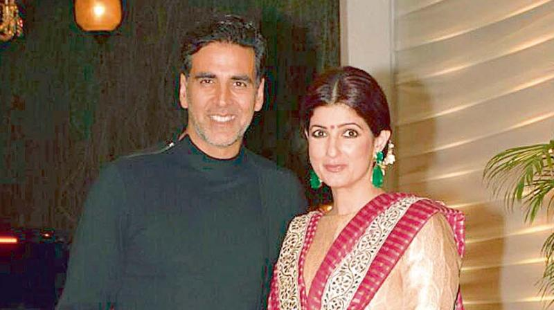 Now, wife Twinkle tweets in Akshay's defense