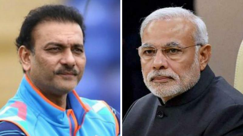 Narendra Modi comes up with witty reply to Shastri's twitter message