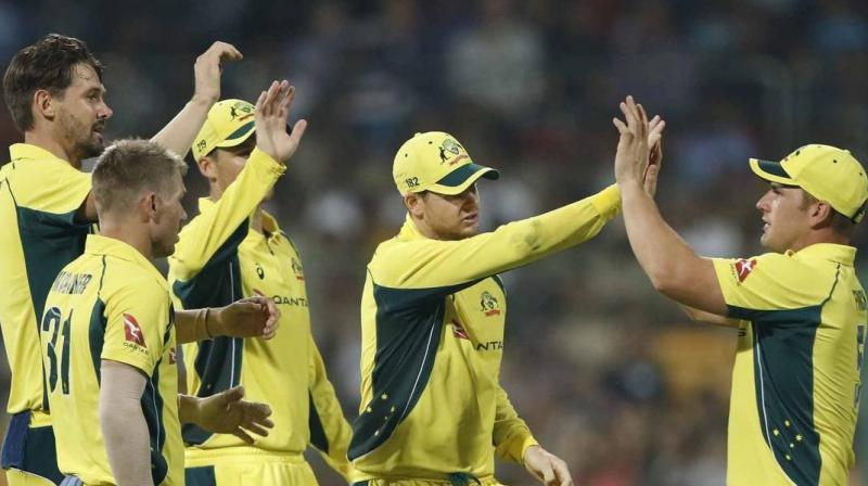 Image result for Australia beat India by 21 runs in fourth ODI