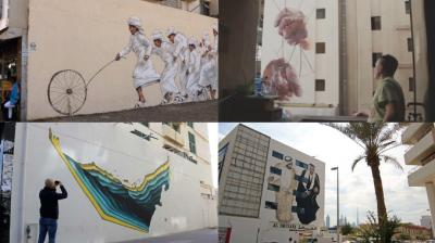 The Dubai Street Art initiative is a government-funded project to revive some colour in the city. (Photo: AFP/Youtube)