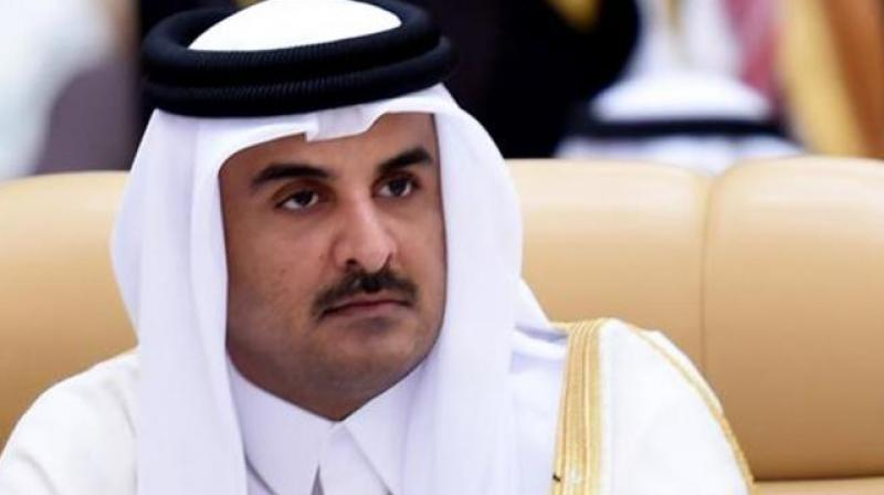 Qatar ruler phones Saudi crown prince about starting talks
