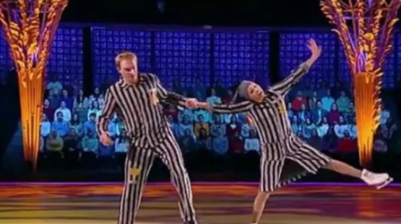 Kremlin Spokesman's Wife In Row Over Holocaust Skating Performance