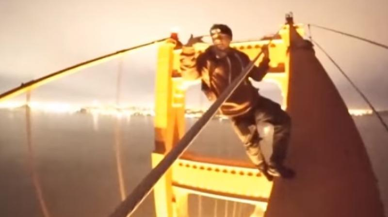 Golden Gate Bridge daredevils draw condemnation for stunts