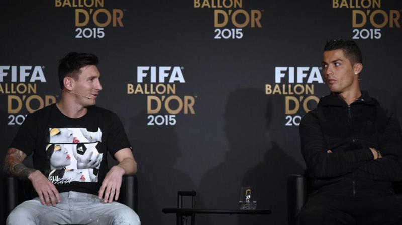 Cristiano Ronaldo can match Lionel Messi's five Ballon d'Or trophies