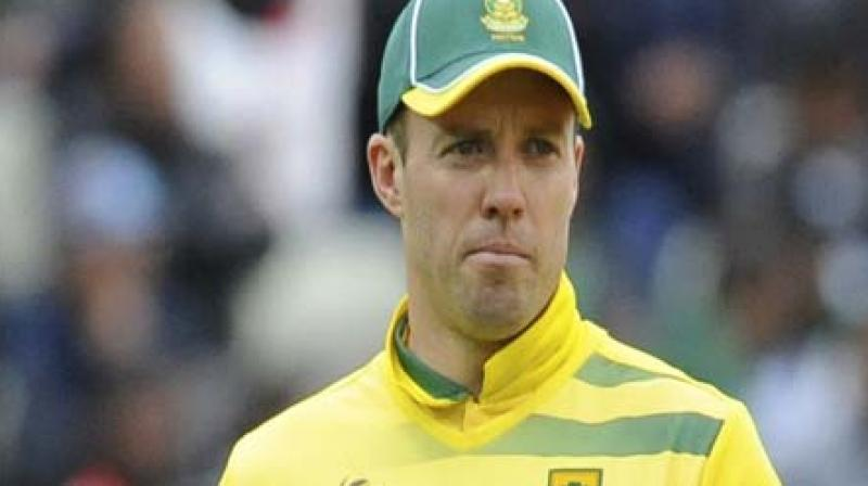 ABdV named skipper for England T20 series