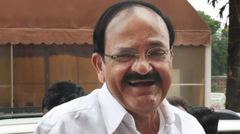 Venkaiah Naidu lays foundation for vocational training institute in Hyderabad