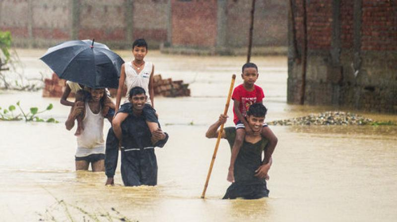 At least 55 killed in flood triggered Nepal; 200 Indian toursits stranded
